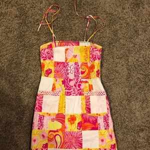 Lilly Pulitzer sun dress with pockets